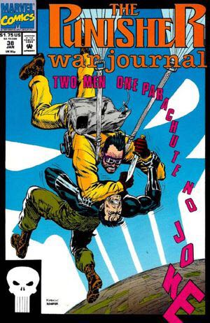 The Punisher War Journal - 38 cover