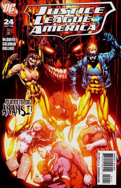 Justice League of America (Vol. 2) - 24 cover