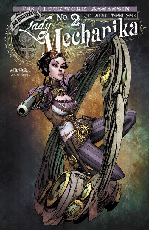 Lady Mechanika: The Clockwork Assassin - 2 cover