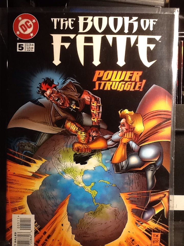 The Book Of Fate - 5 cover