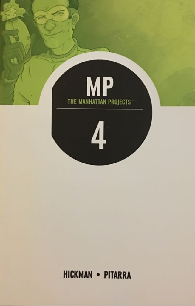 The Manhattan Projects Vol. 4 - 4 cover