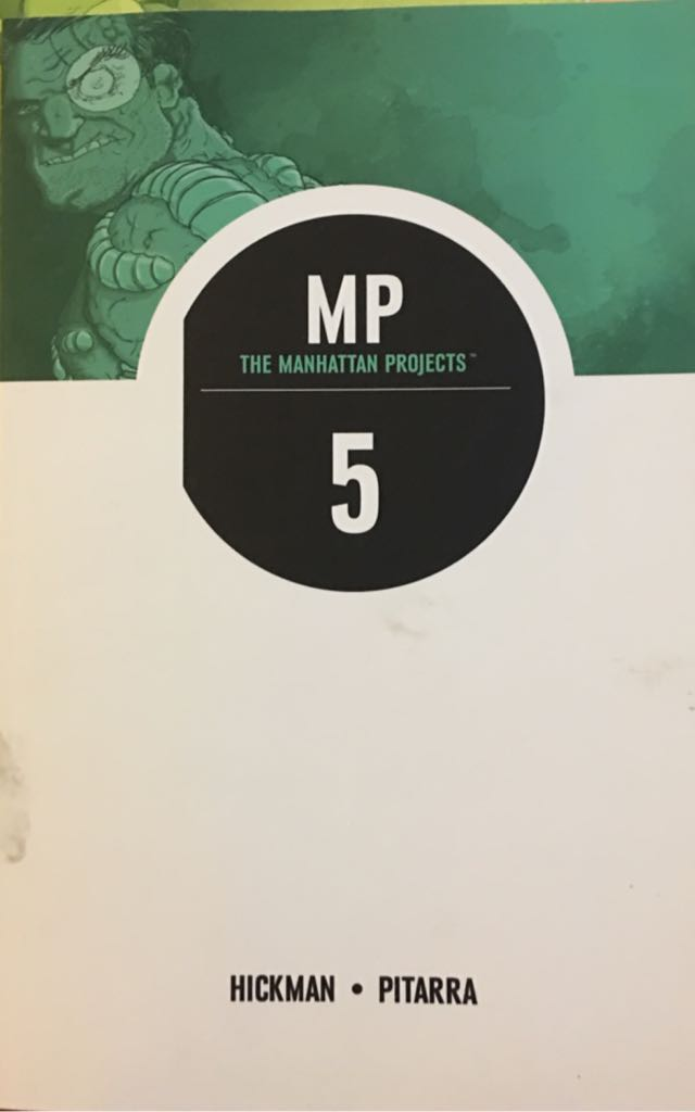 The Manhattan Projects Vol. 5 - 5 cover