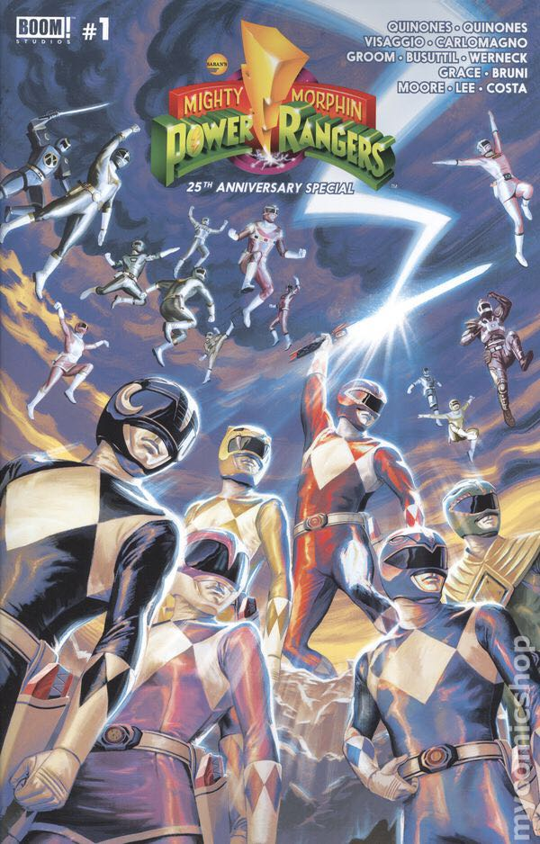 Mighty Morphin Power Rangers 25th Anniversary Special - 1 cover