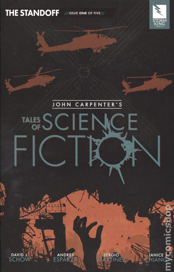 John Carpenter's Tales Of Science Fiction: The Standoff - 1 cover
