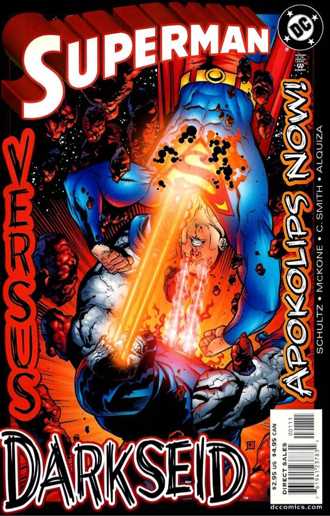 Superman Vs Darkseid: Apokolips Now! - 1 cover