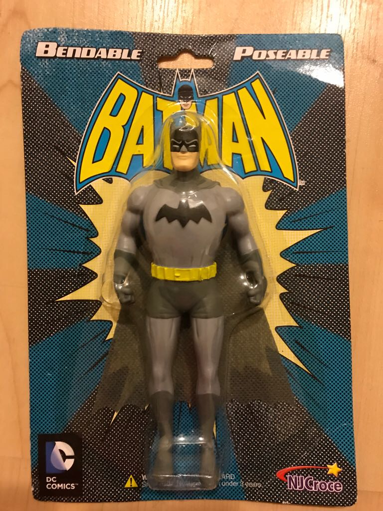 Batman  bendable pos NJCroce  -  cover