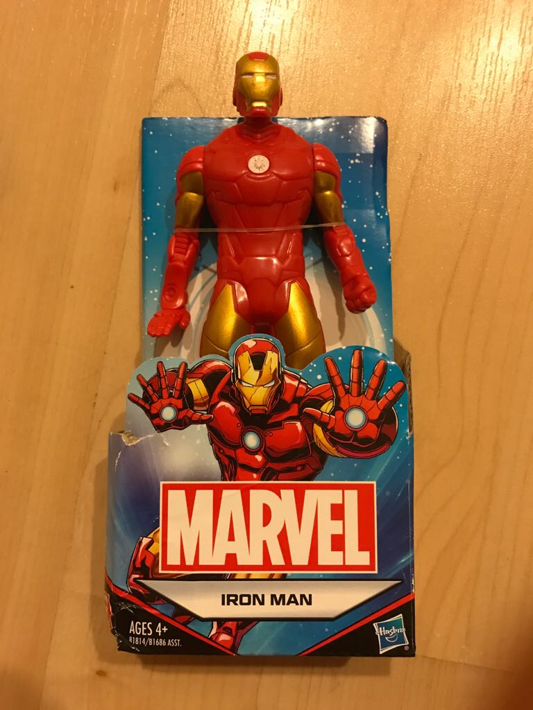 Marvel Iron Man Tony Stark Action Figure -  cover