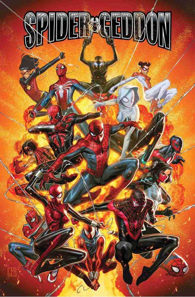 Spidergeddon - 1 cover