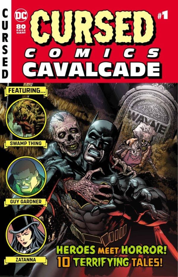 Cursed Comics Cavalcade - 1 cover