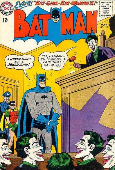 Batman - 163 cover