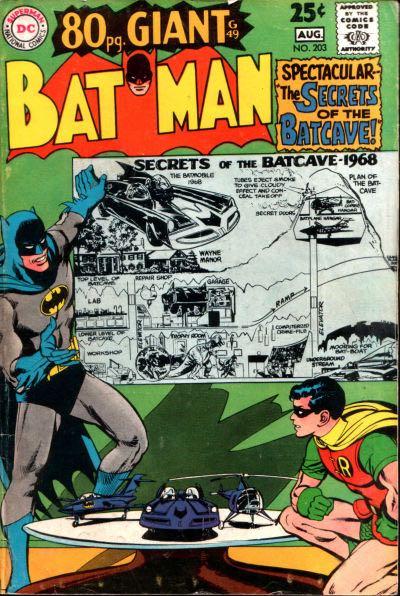 Batman - 203 cover