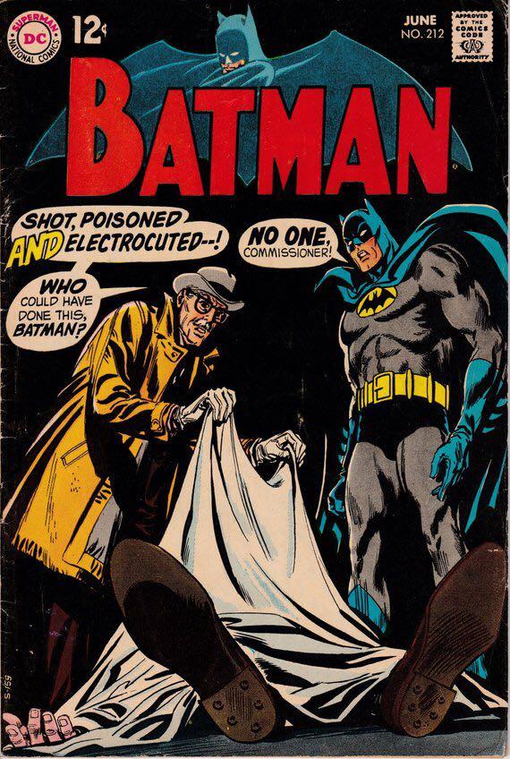 Batman - 212 cover