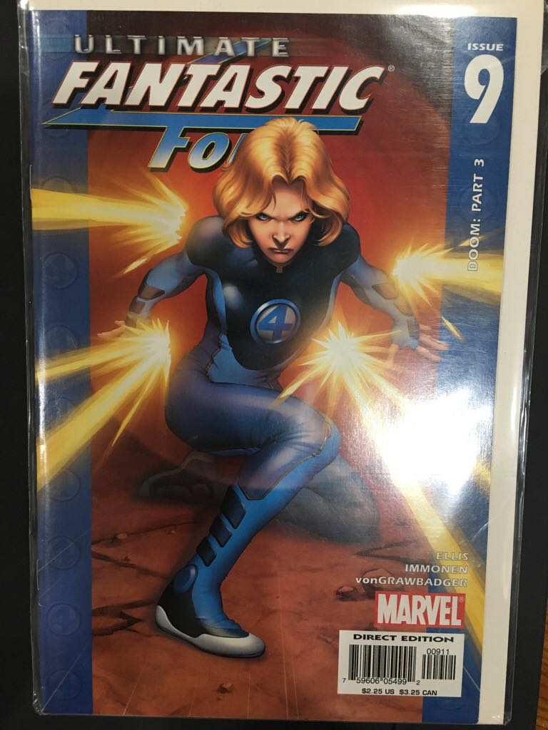 Ultimate Fantastic Four - 9 cover