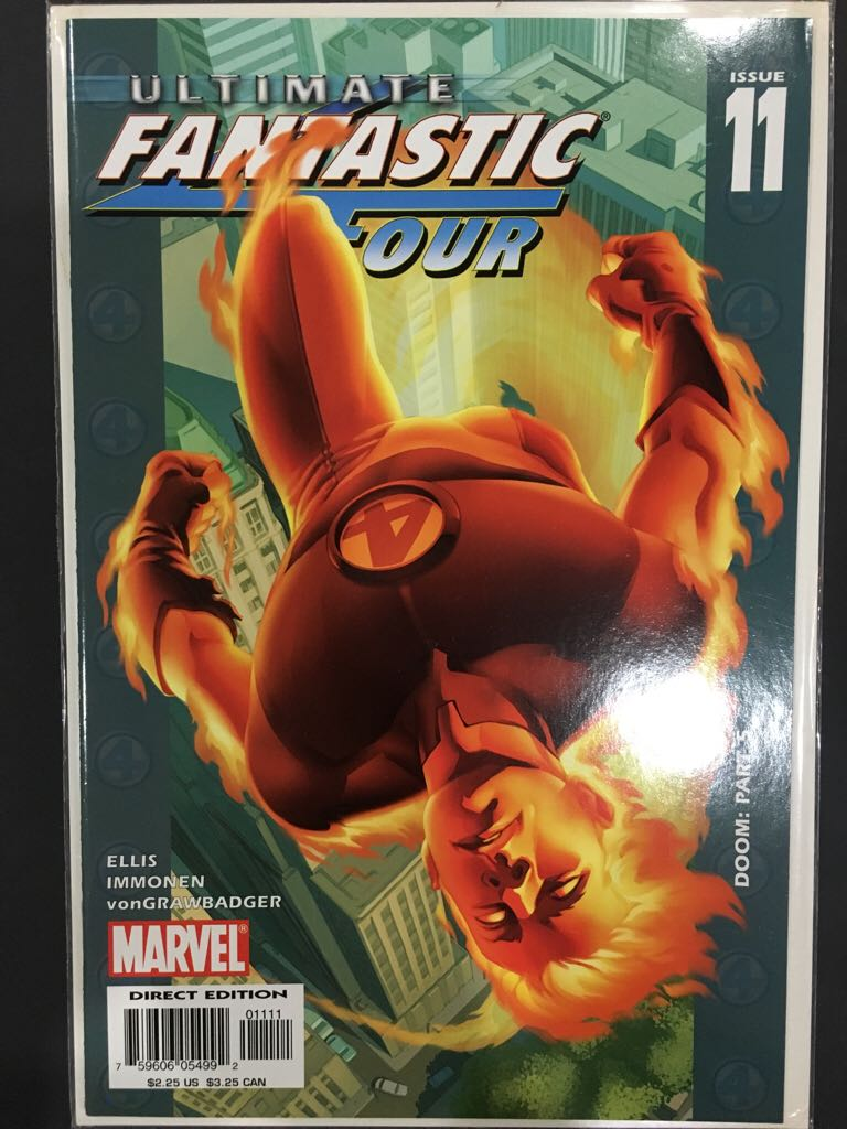 Ultimate Fantastic Four - 11 cover