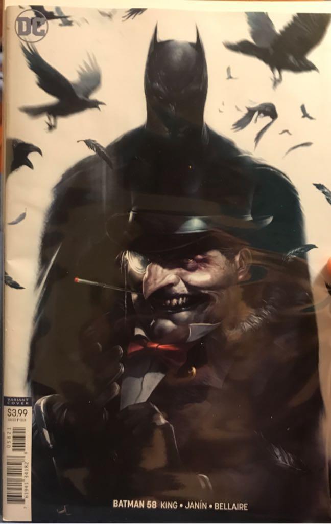 Batman - 58 cover