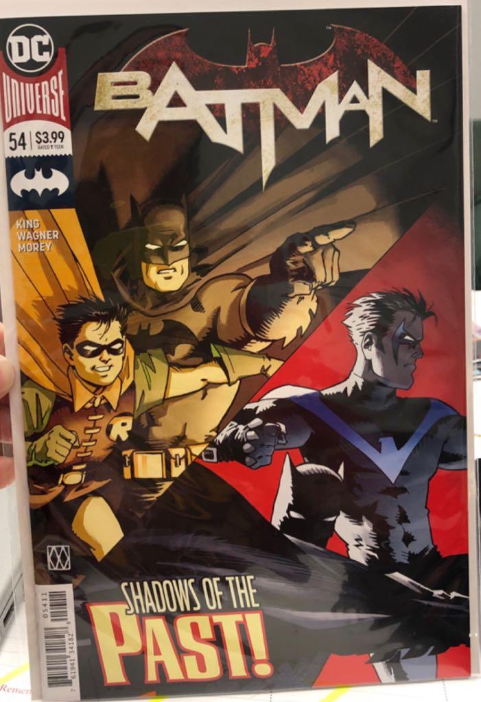 Batman - 54 cover