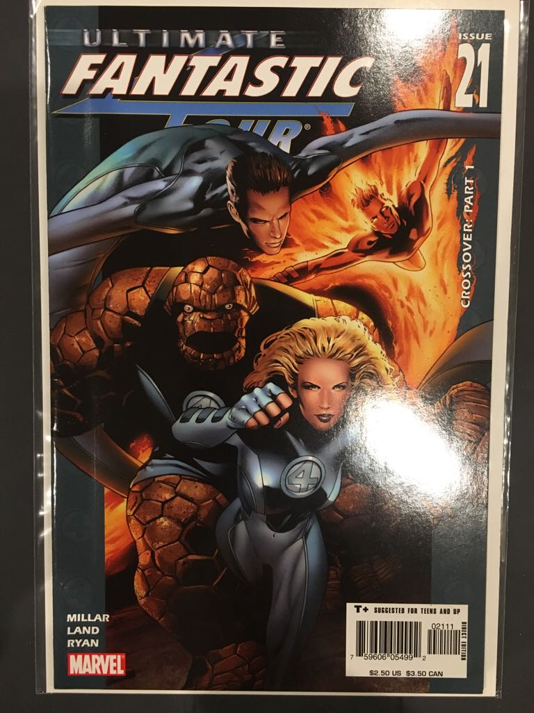 Ultimate Fantastic Four - 21 cover