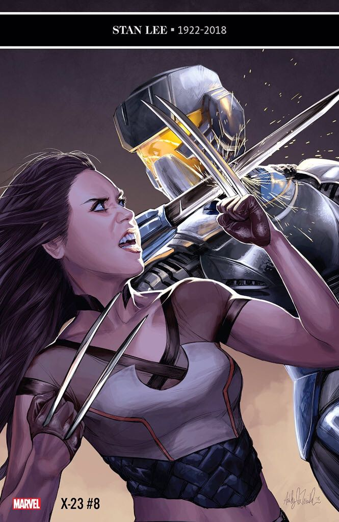 X-23 - 8 cover
