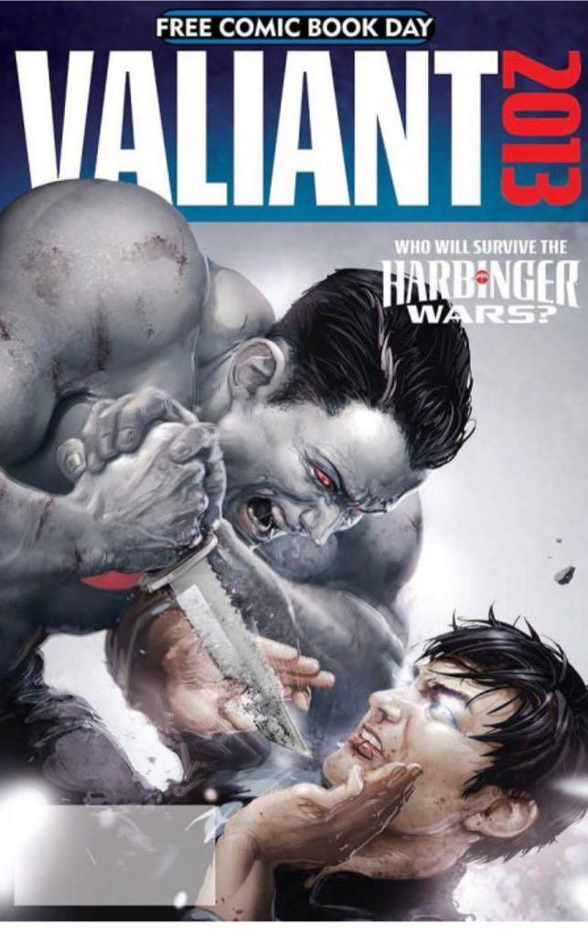 Valiant 2013 - 0 cover