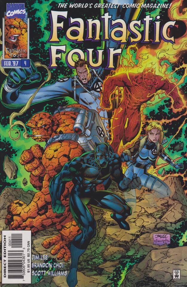 Fantastic Four - 4 cover