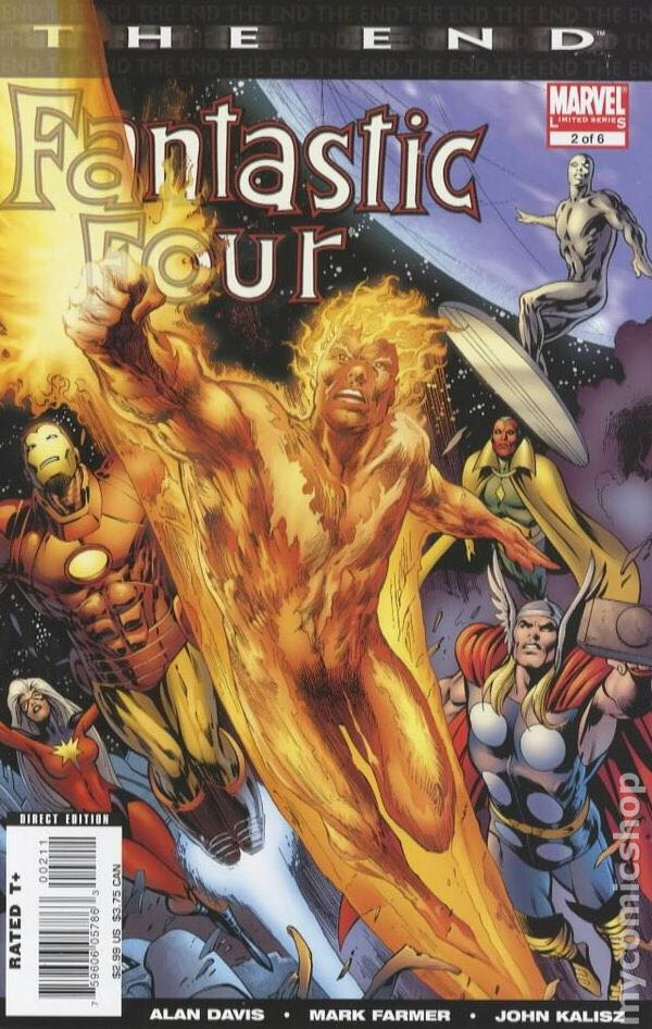 The End Fantastic Four - 2 cover