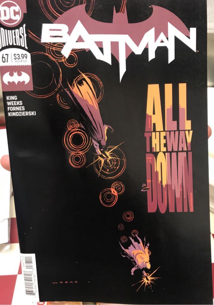 Batman - 67 cover