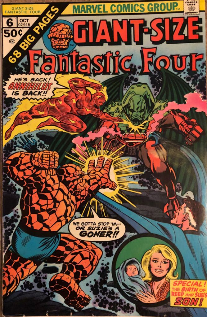 Giant-Size Fantastic Four - 6 cover