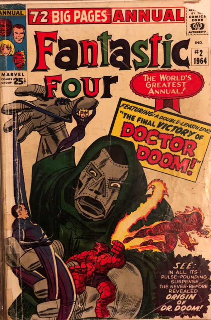 Fantastic Four Annual - 2 cover