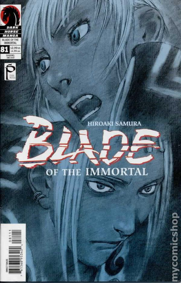 Blade of the Immortal - 81 cover