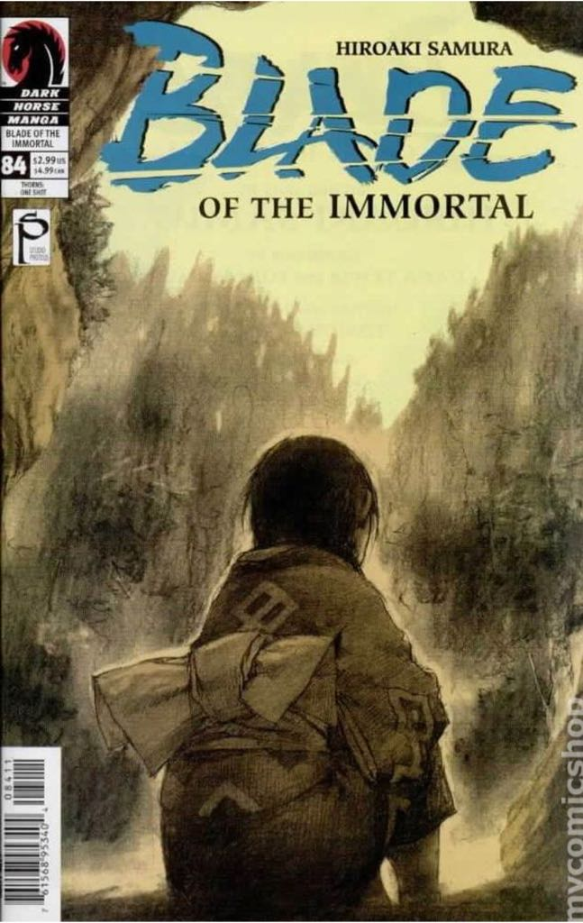 Blade of the Immortal - 84 cover