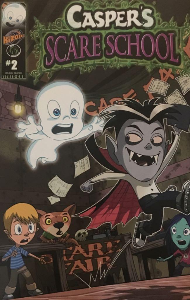 Casper's Scare School - 2 cover
