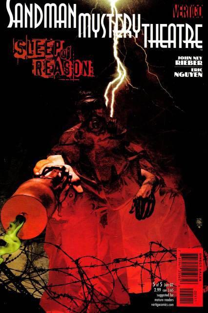 Sandman Mystery Theatre: Sleep of Reason - 5 cover
