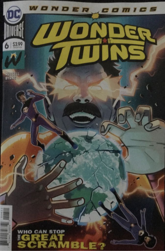 Wonder Twins  - 6 cover