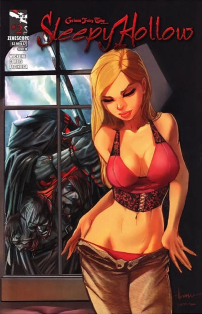 Grimm Fairy Tales: Sleepy Hollow - 2 cover