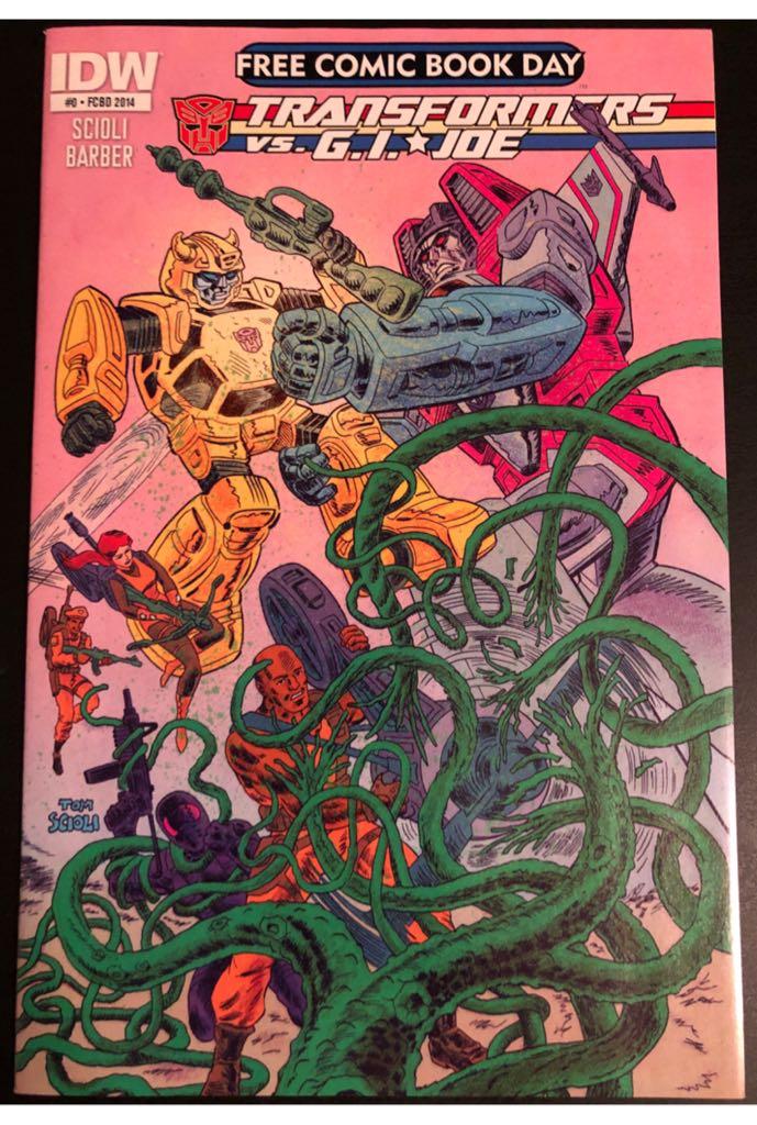 Transformers vs G.I. Joe: Free Comic Book Day 2014 - 1 cover