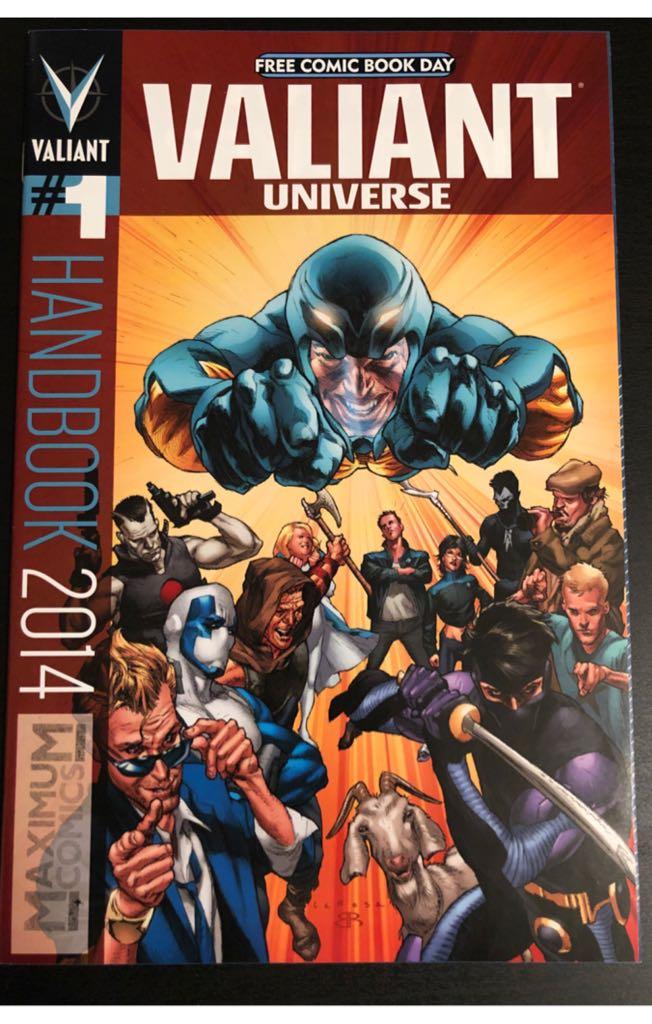Valiant Universe: Free Comic Book Day 2014 - 2 cover