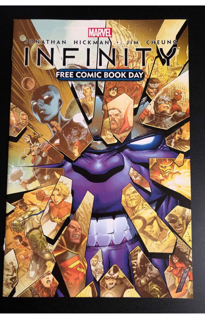 Infinity: FCBD 2013 - 1 cover
