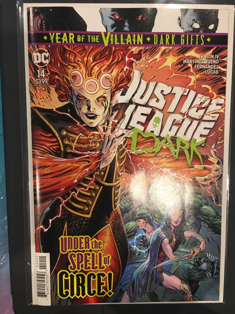 Justice League Dark - 14 cover