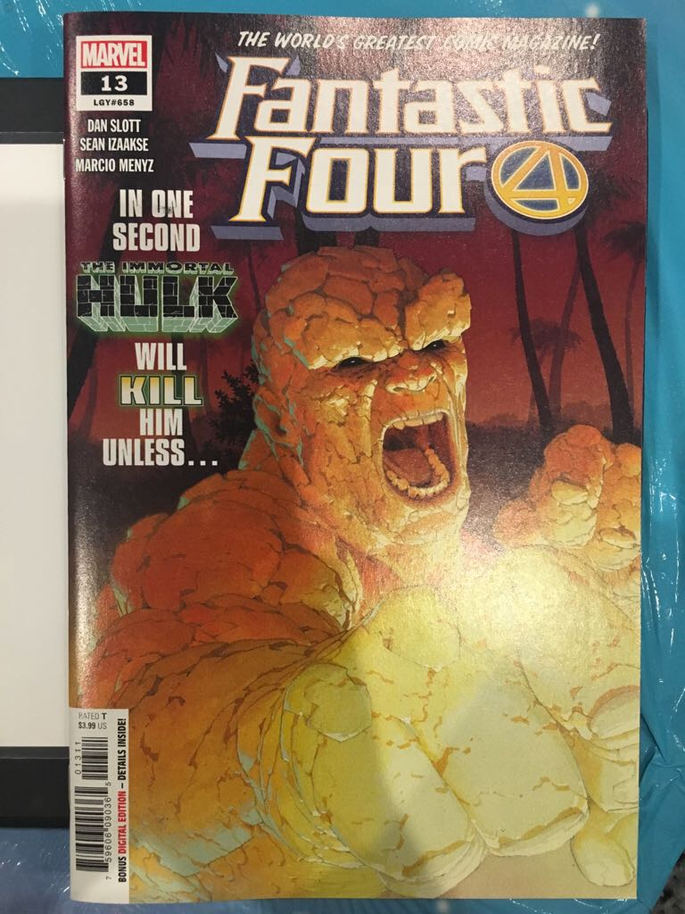 Fantastic Four - 658 cover