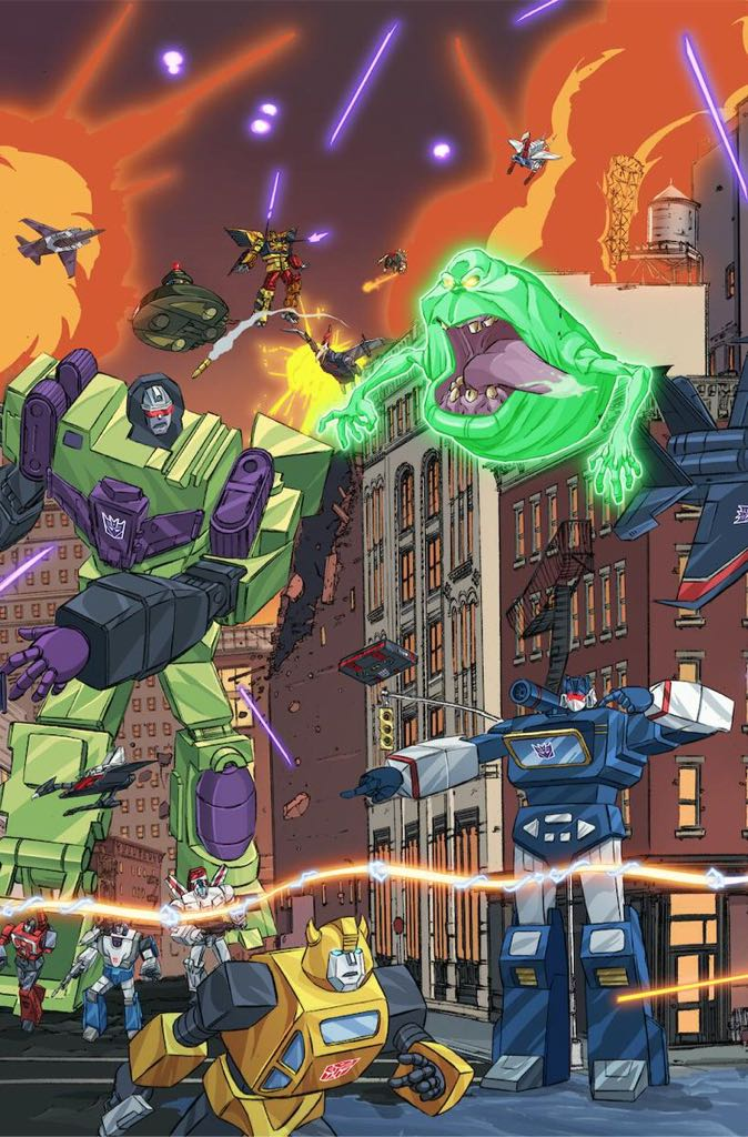 Transformers Ghostbusters - 4 cover