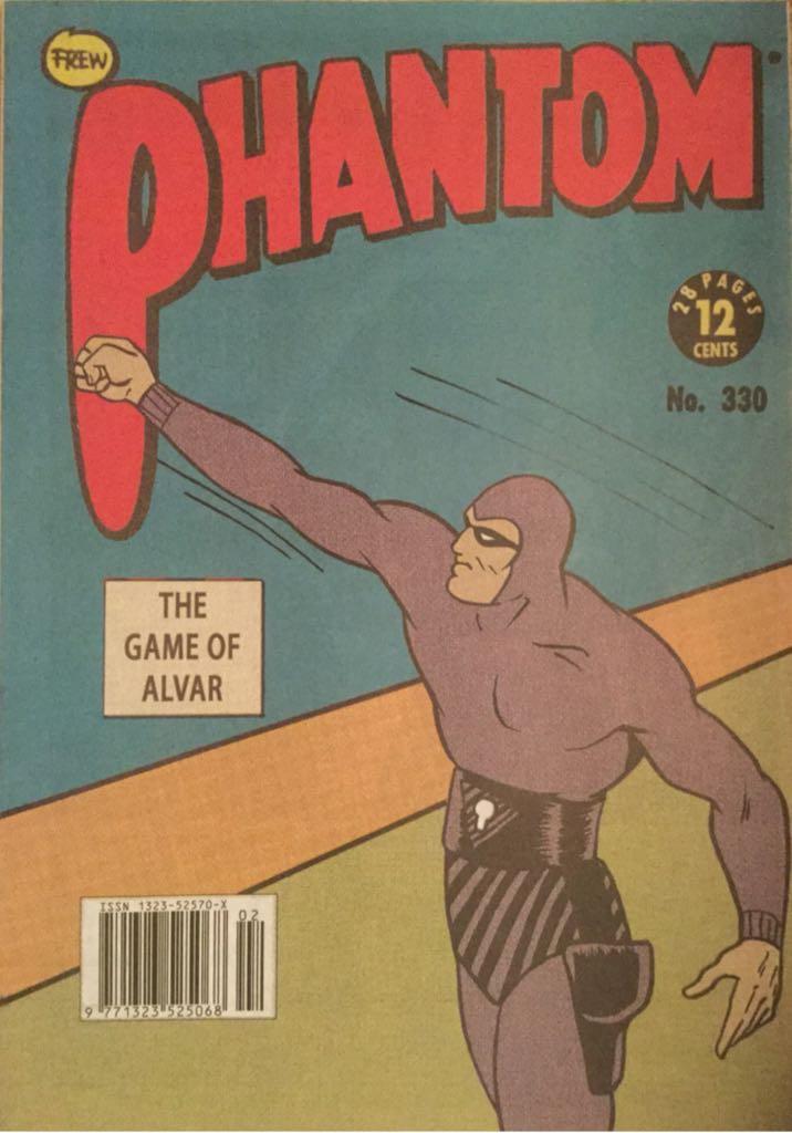 The Phantom - 1830.2 cover