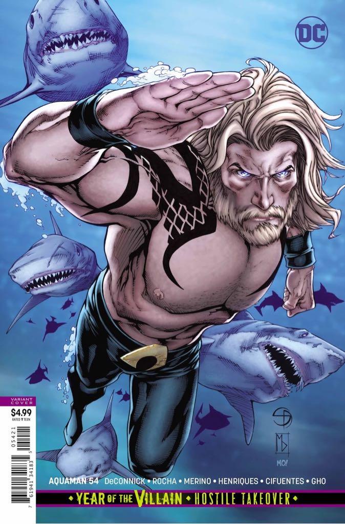 Aquaman - 54 cover