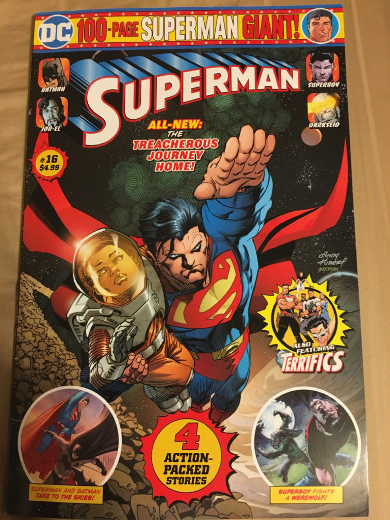 Superman 100-Page Giant - 16 cover