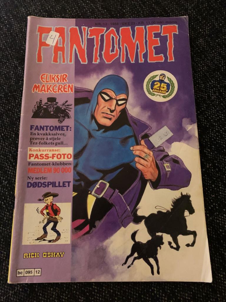 Fantomet - 12 cover