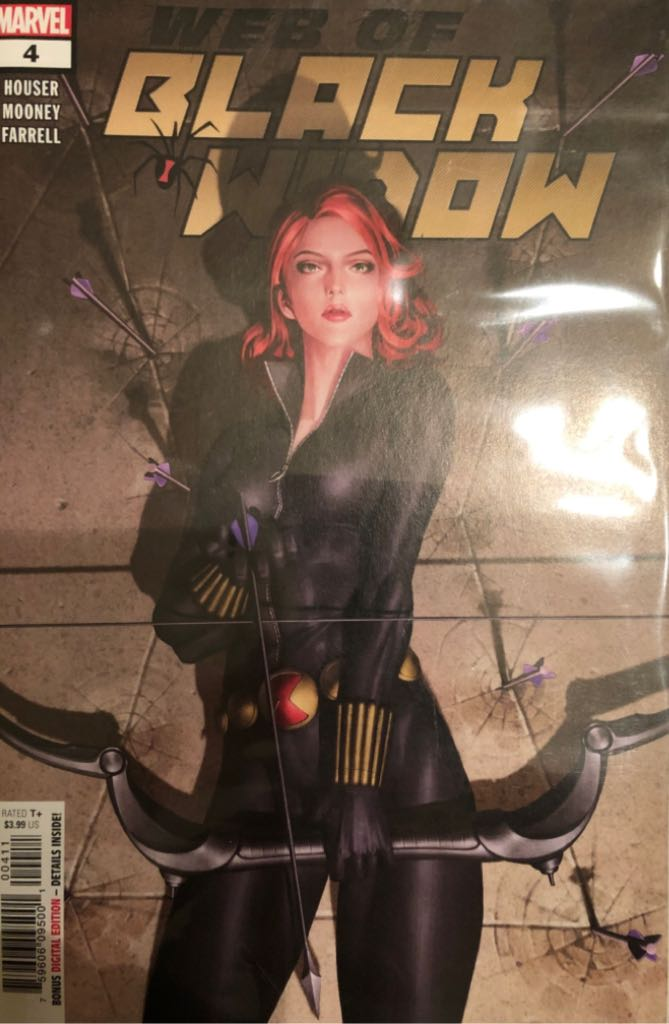 Web Of Black Widow - 4 cover