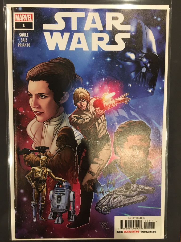Star Wars - 1 cover