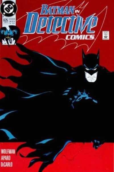 Detective Comics - 625 cover