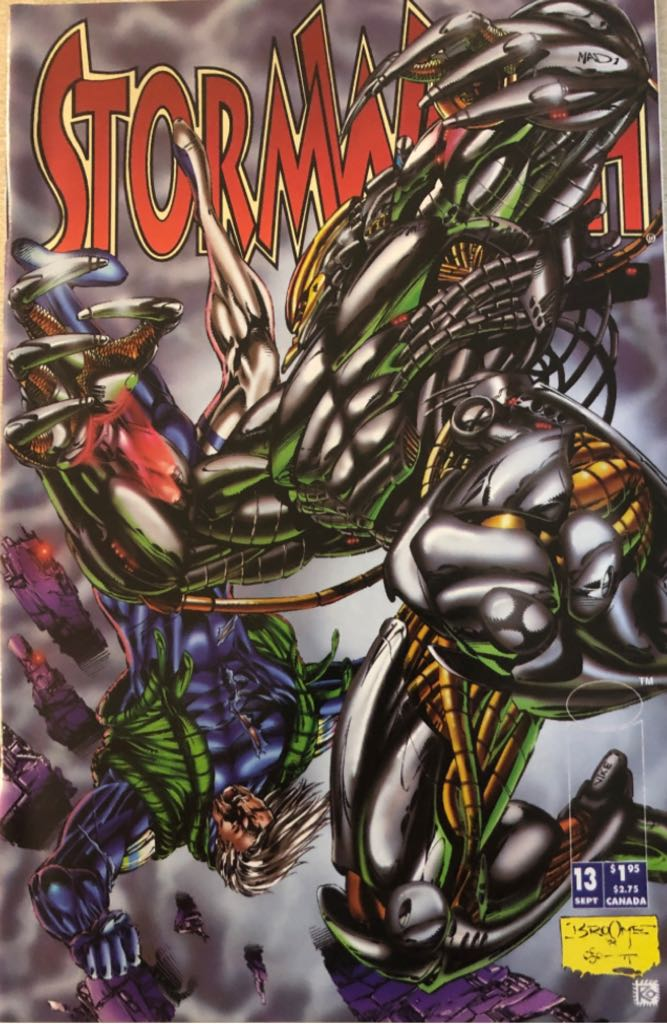 Stormwatch - 13 cover
