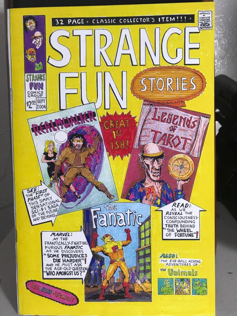 Strange Fun - 1 cover