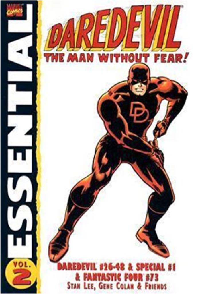 Daredevil: Essential Daredevil Vol2 -  cover